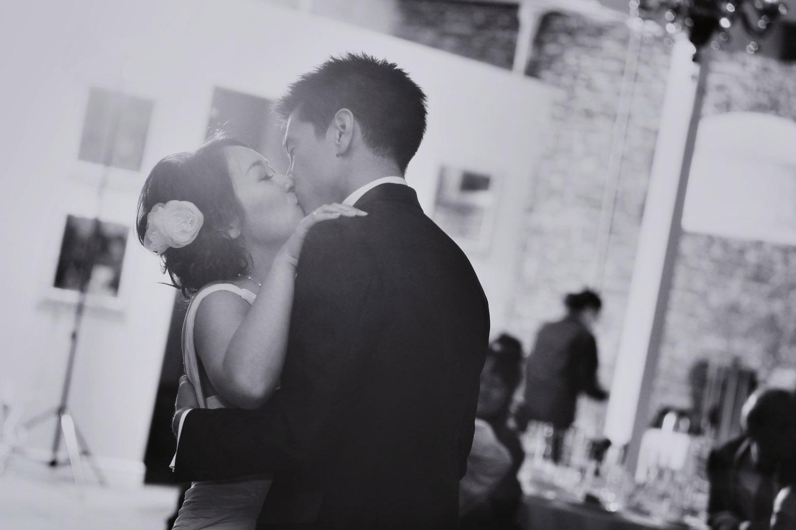 purple gray and yellow wedding