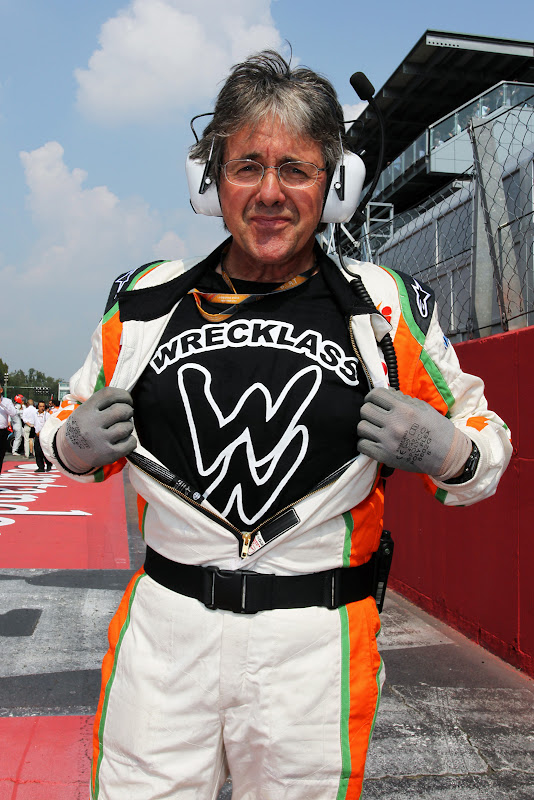 Нил Дики в футболке Wrecklass на Гран-при Италии 2011