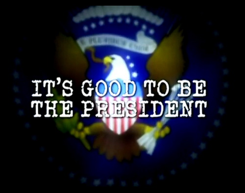 Fajnie byæ prezydentem / It's Good to be the President (2011) PL.TVRip.x264 / Lektor PL