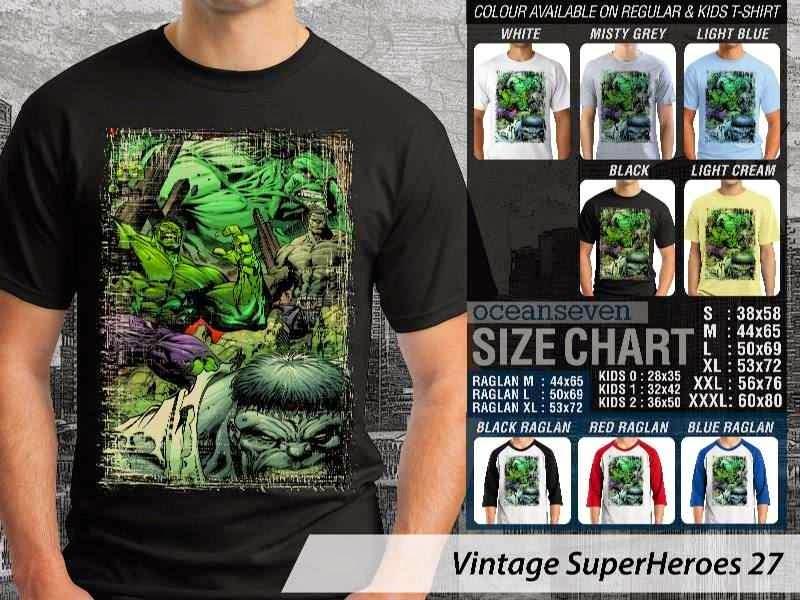 KAOS Hulk Vintage distro ocean seven