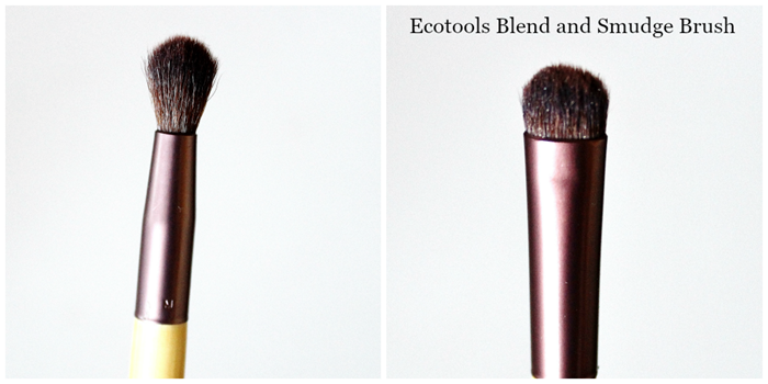 Ecotools Eye Enhancing Duo Set Blend and Smudge brush review