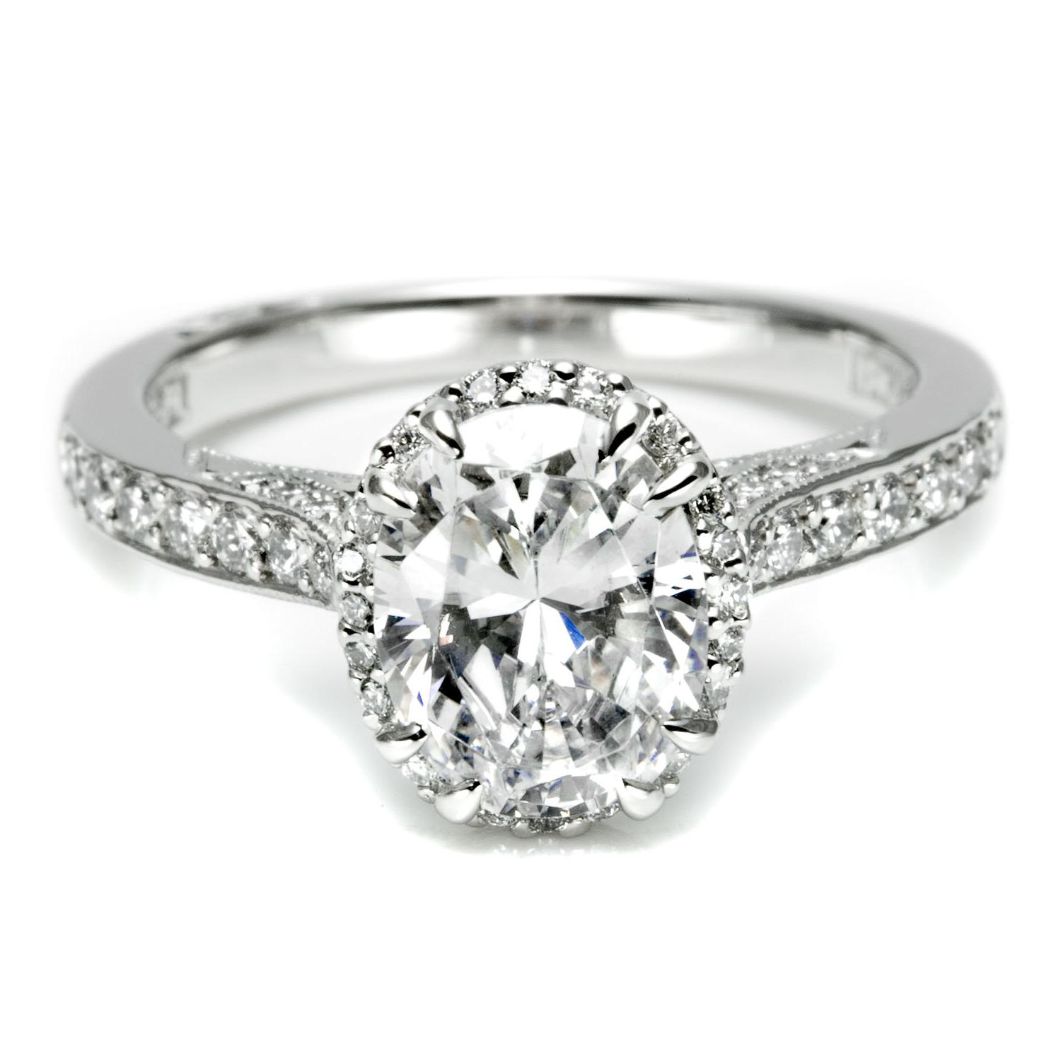 Tacori Oval Cut Diamond