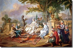 Loo,_Charles-Amédée-Philippe_van_-_The_Sultana_Served_by_her_Eunuchs