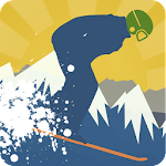 Ski Flying 2D APK Image