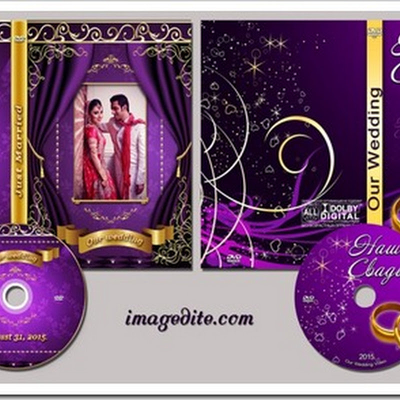 Wedding Dvd Box Cover Psd Free Download