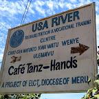 Usa River Rehabilitation Center, Schild © Foto: S. Schlesinger | Outback Africa Erlebnisreisen