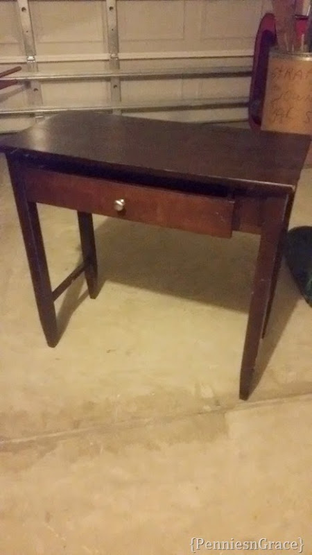 before end table