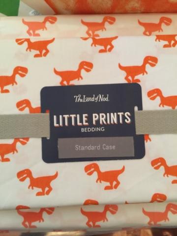 land of nod little prints dinosaur sheets a tiny spark of happenstance