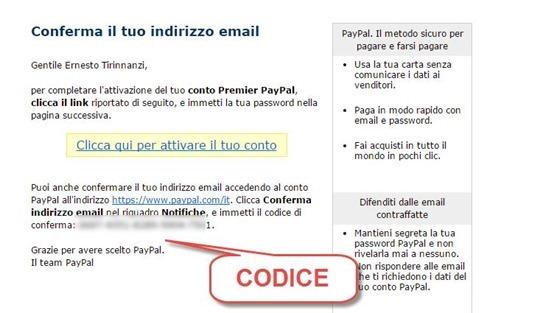 codice-paypal