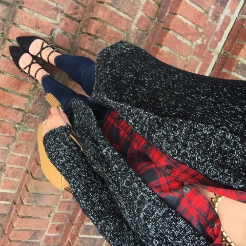 comfy glam, how to style a flannel shirt, lumberjack chic