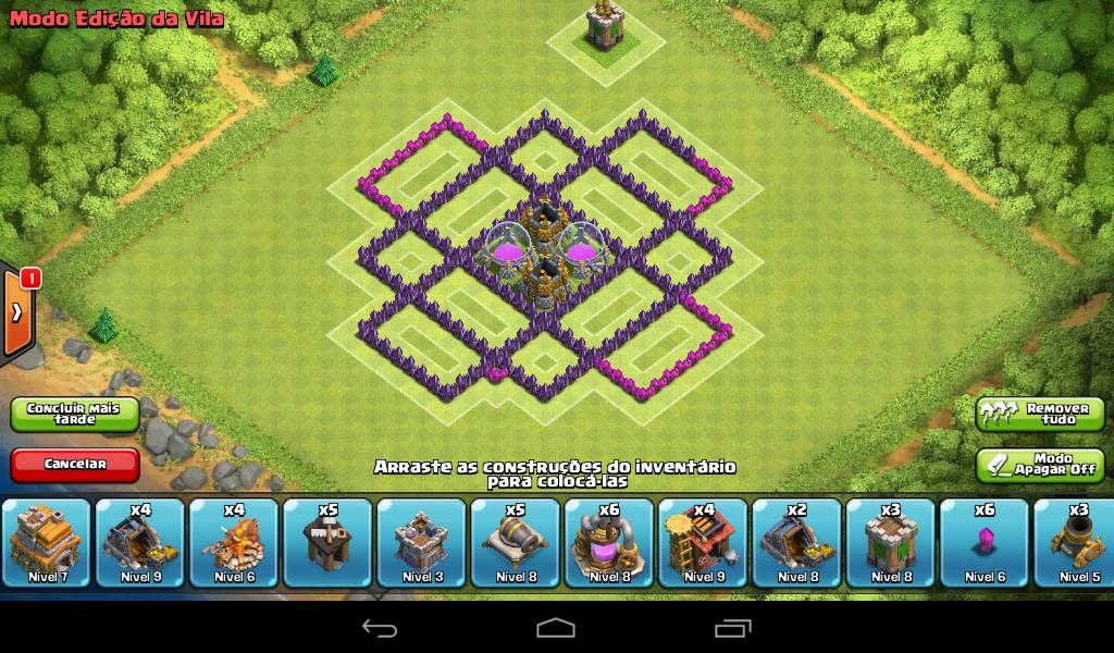 clã bruxos bruxas layout de farm para cv 7