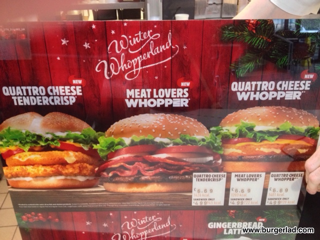 Burger King Winter Whopperland