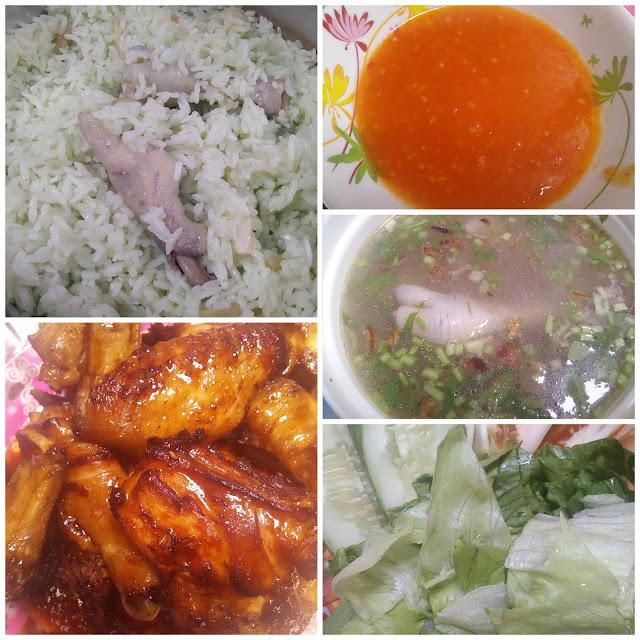 Resepi nasi kaki ayam
