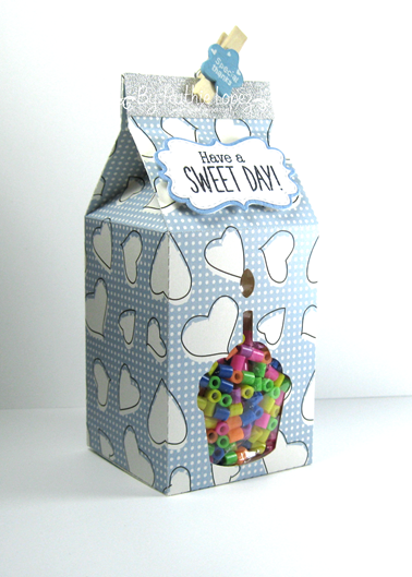 The Cutting Cafe - Milk carton - Birthday - Ruthie Lopez 2