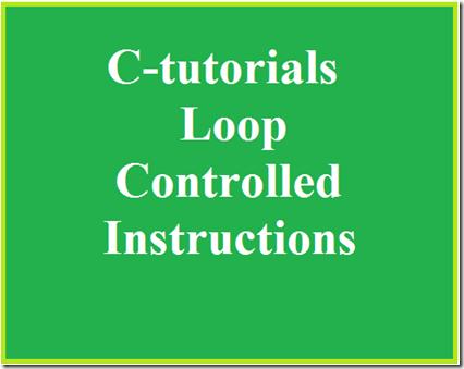 c tutorials