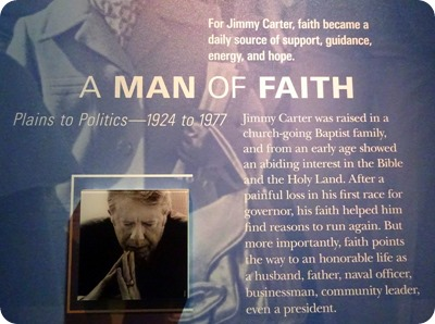 Man of Faith...Jimmy Carter