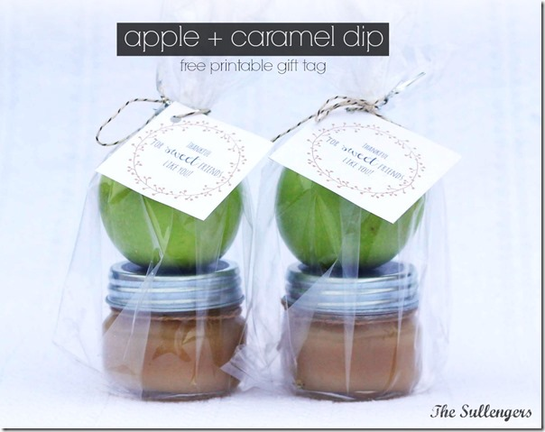 caramel apple dip gift