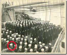 USS Stokes commissioning crew on 4 November 1944