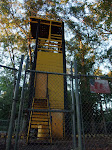 some kind of army observation tower