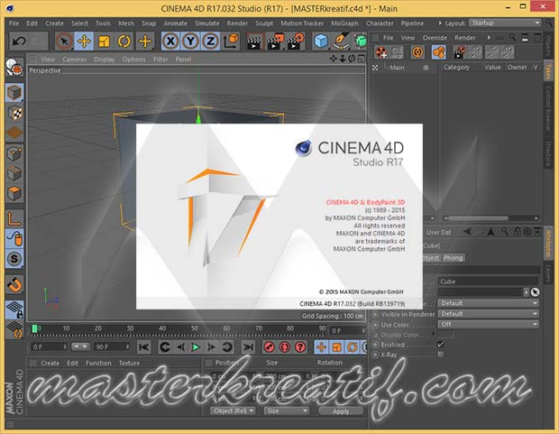 Cinema 4D R17