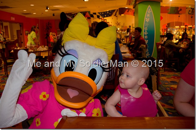 Me and My SoldierMan: Baby G Does Disney(land) Daisy
