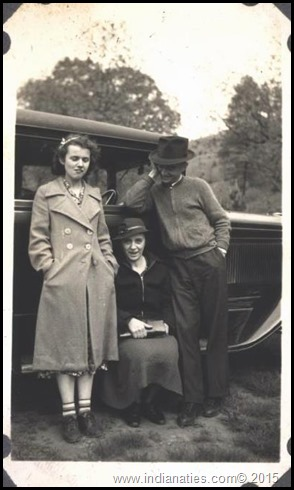 "Virginia Weber, Otillia ""Tillie"" (Kuhn) Weber, Robert ""Bob"" Weber"