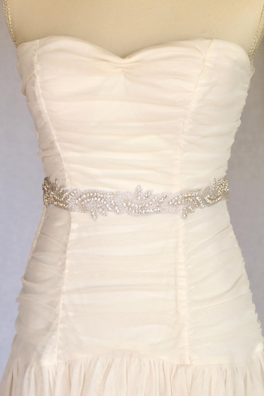 wedding sash, bridal