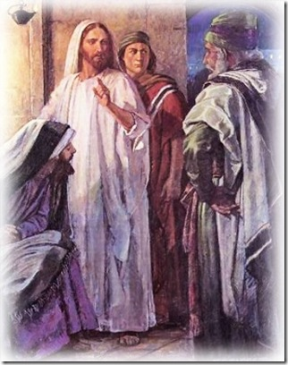 Jesús y escribas