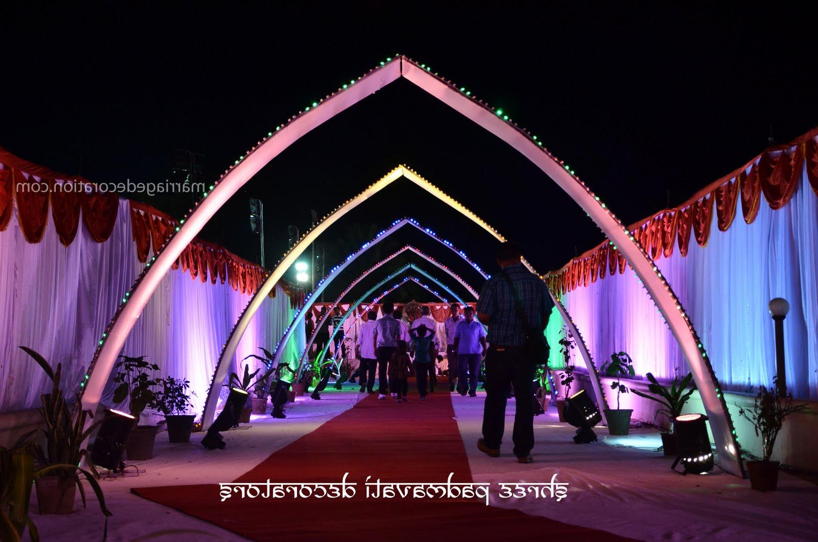 Sri Lakshmi Flower Decorations telugu wedding decorations