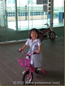 Mar's first bike