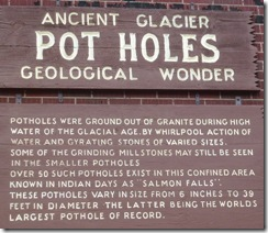 Glacier Pot Holes