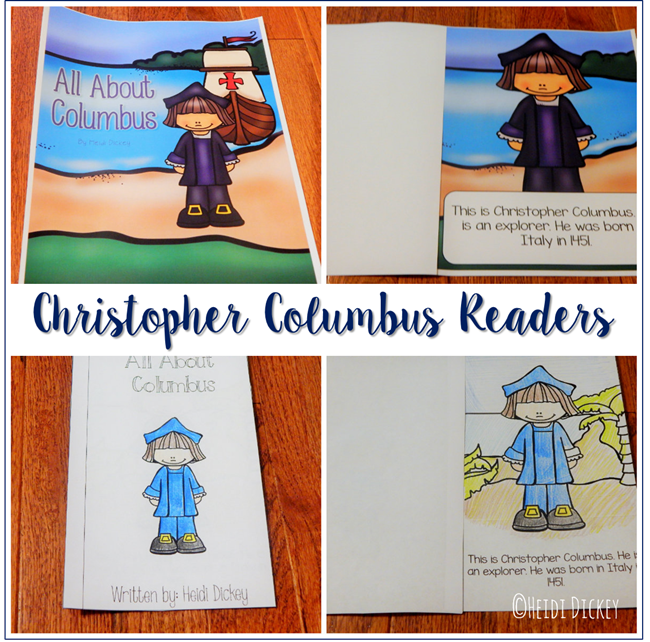 Christopher Columbus Readers
