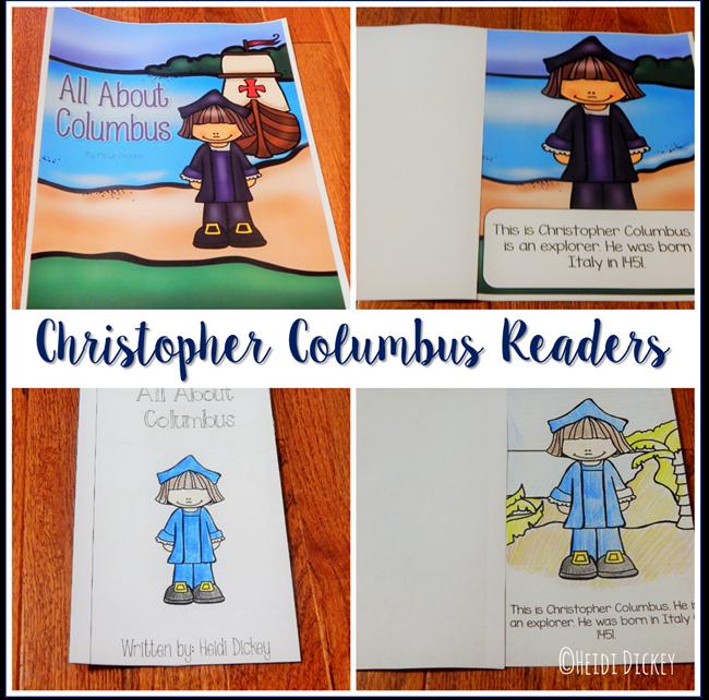 Christopher Columbus Readers