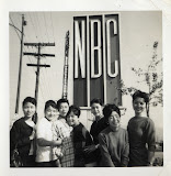 Members of Tony Toyoda's show, at NBC studios