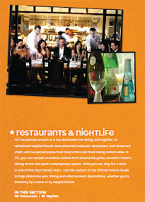 Cover of Joy Of Life's Book Washington Dc Restaurant And Dining Free Guide 2009