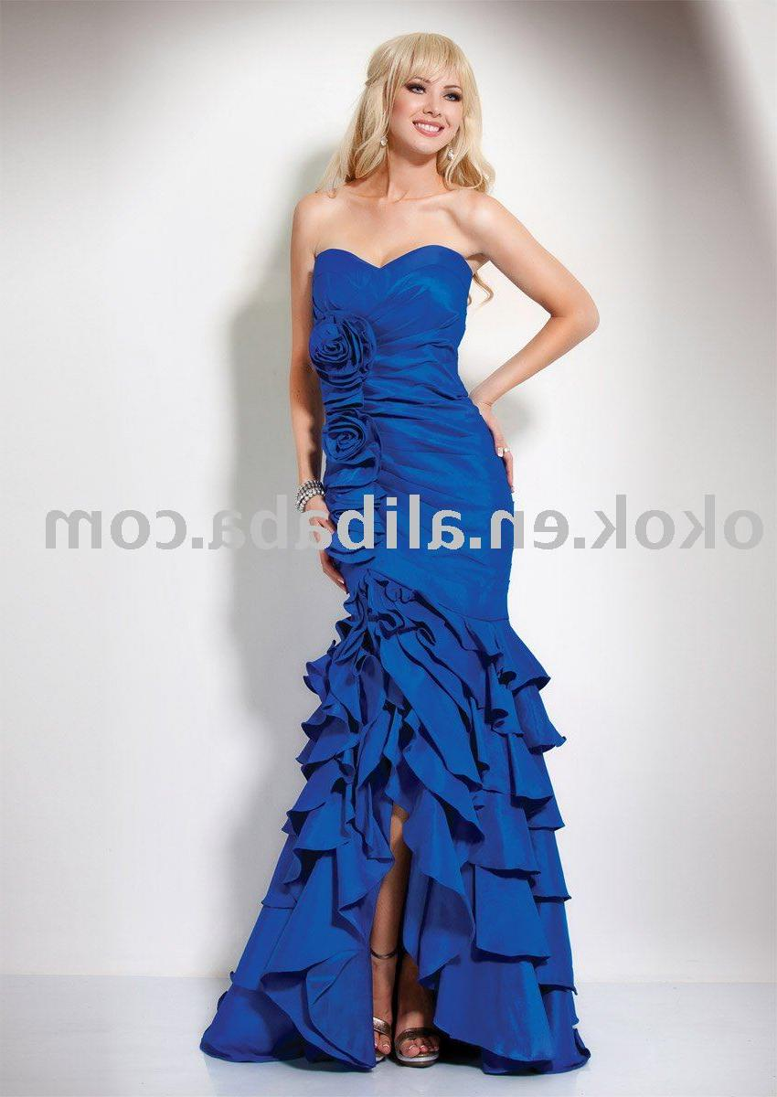 Backless taffeta sleveeless