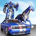 US Police Transform Robot Car Cop Wild Horse Games for PC (Windows 7,8,10 & MAC)
