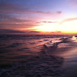 Sunset over the Gulf of Mexico in Destin FL 03232012i