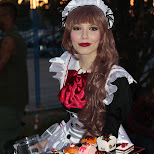 maid at Anime North 2014 in Mississauga, Ontario, Canada