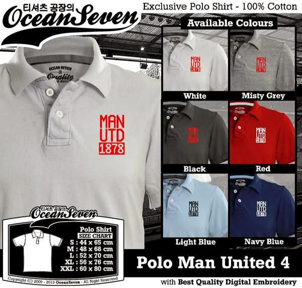 manchester United Polo Shirt 4 Premier League