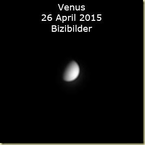 26 April 2015 Venus