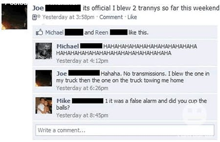 funny facebook wall post profile updates