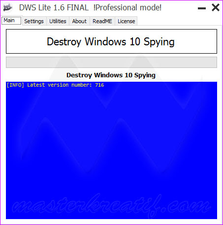 Destroy Windows 10 Spying [DWS Lite]