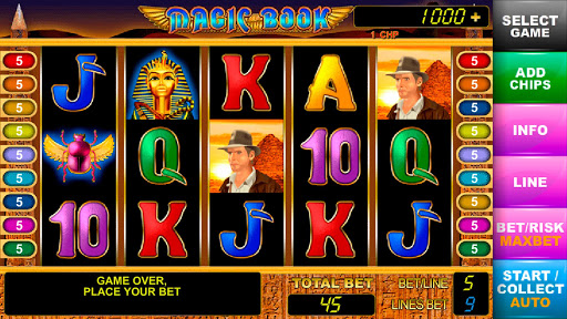 Book of Pharaoh slot machines - screenshot