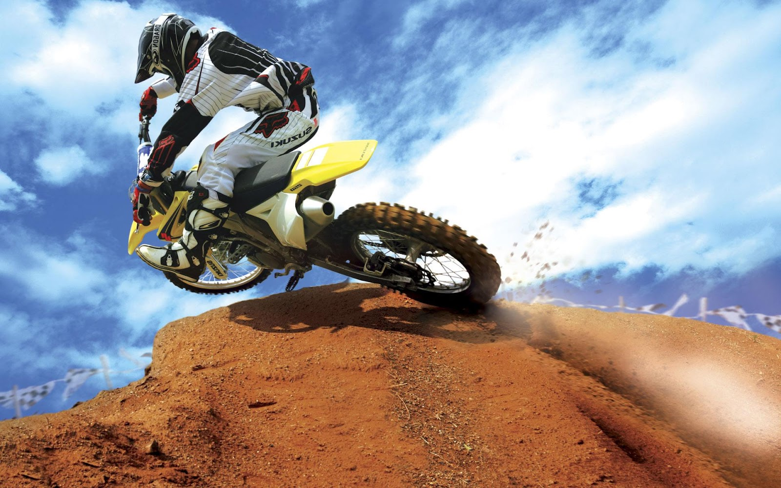 private motocross track on