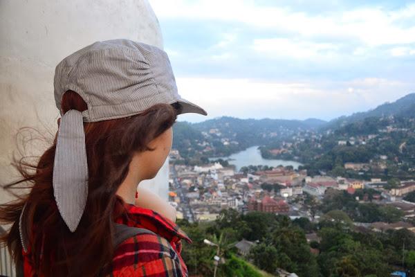 Вид на Канди с холма, Шри Ланка