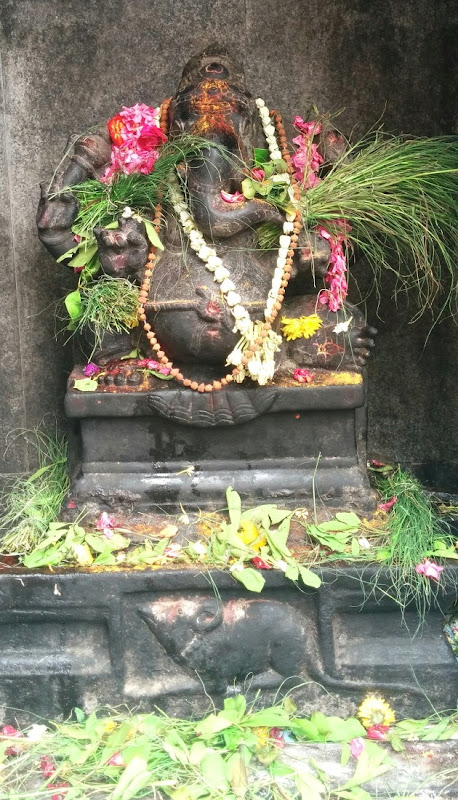 Ganesha at Gavipuram Gangadeeshwara Temple, Bangalore
