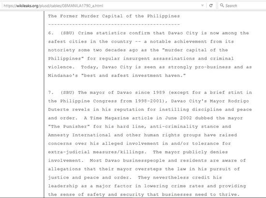 Davao Wikileaks 4