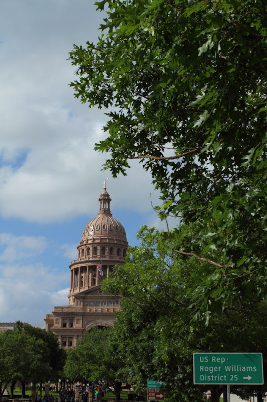 Texas Capitol Building at Austin