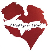 Michigan girl sticker_lightened up